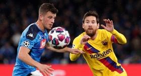 Barcelona İtalya'dan avantajlı dönüyor