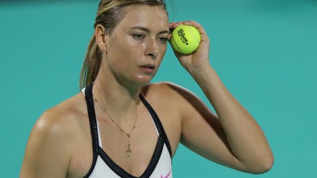 Sharapova kortlara veda etti