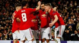 Manchester United'dan Club Brugge'a fark