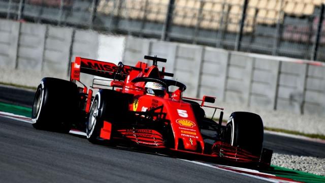 Barcelona'da 2. günün en hızlısı Vettel
