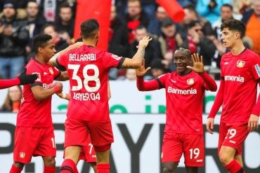 Leverkusen - Frankfurt (Özet)