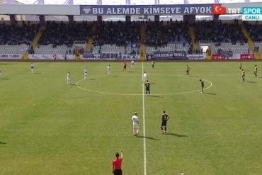 Afjet Afyonspor - Tarsus İdman Yurdu (Özet)