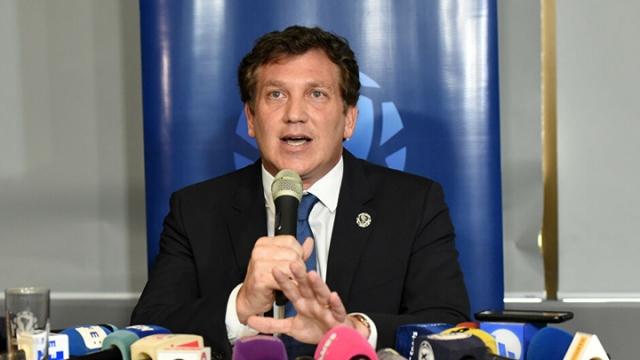 Conmebol başkanı Infantiino'ya tepki gösterdi