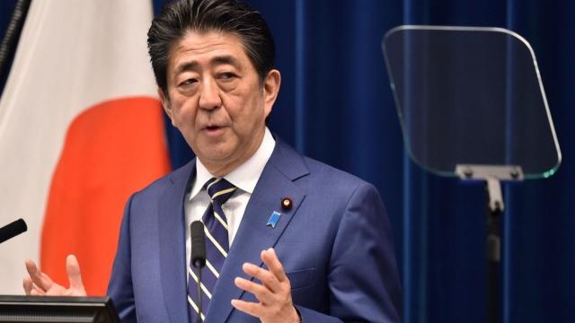Shinzo Abe'den olimpiyat açıklaması
