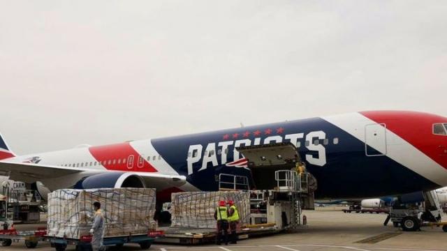 New England Patriots'dan büyük destek