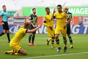 Wolfsburg - Borussia Dortmund (Özet)