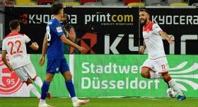 Fortuna Düsseldorf, Schalke 04'ü Kenan Karaman'la yıktı