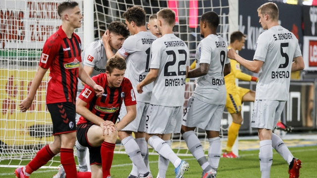 Freiburg - Leverkusen (Özet)