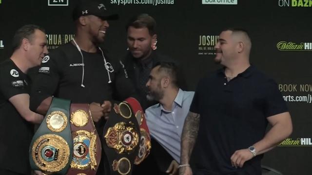 Joshua ve Ruiz karşı karşıya geliyor