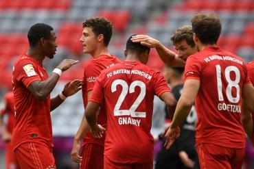 Bayern Münih - Düsseldorf (Özet)