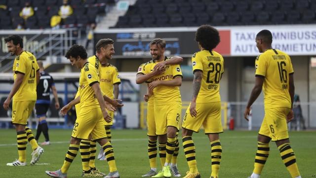 Paderborn - Borussia Dortmund (Özet)