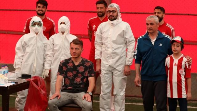 Sivasspor'a bir kez daha Kovid-19 testi
