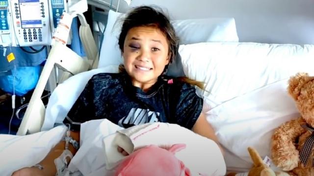 11 yaşındaki kaykaycı Sky Brown korkuttu