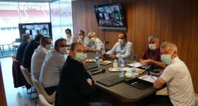 Trabzonspor'da yönetim kurulu toplantısı yapıldı