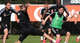 Beşiktaş antrenmanlara hız verdi
