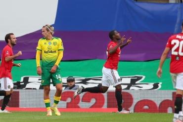 Norwich - Manchester United (Özet)
