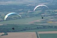 Tokat'ta yamaç paraşütü heyecanı Haberinin Görseli