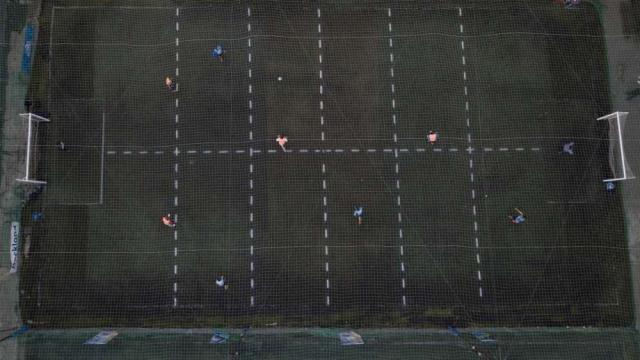 Sosyal mesafe futbolu