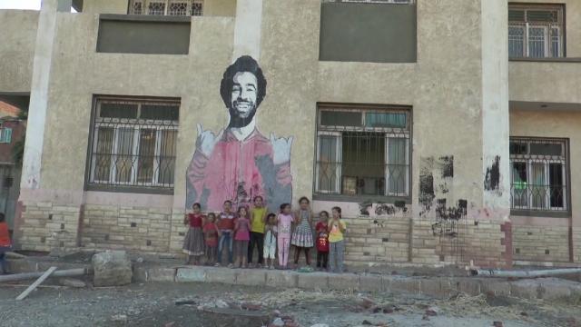 Muhammed Salah'tan memleketine destek