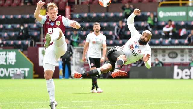 Burnley - Sheffield United (özet)