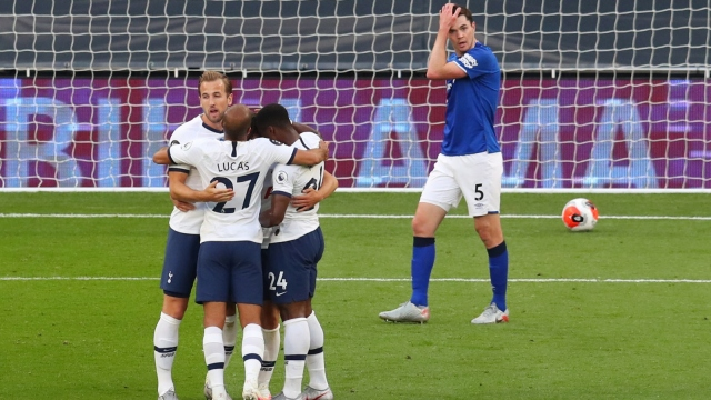 Tottenham - Everton (Özet)