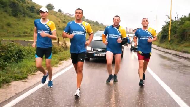 11'inci Bihaç - Srebrenitsa maratonu başladı