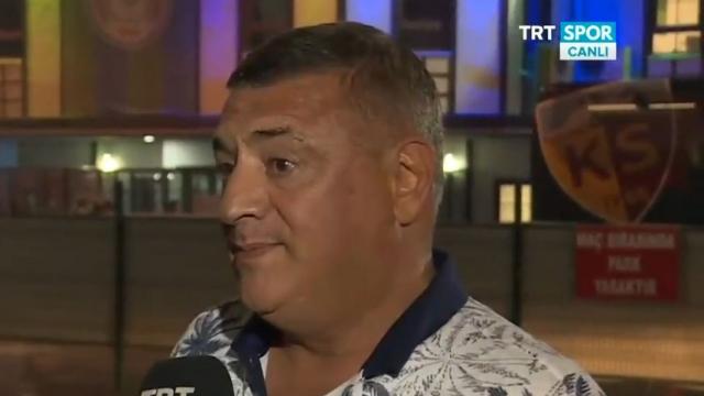 Hasan Kartal TRT SPOR'a konuştu