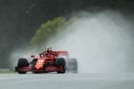 F 1'de  sıralama turlarına yağmur damgasını vurdu