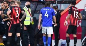 Çağlar kızardı, Leicester farklı kaybetti