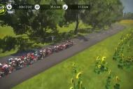 Fransa Bisiklet Turu Sanal Yarışı'nda 4'üncü etap...