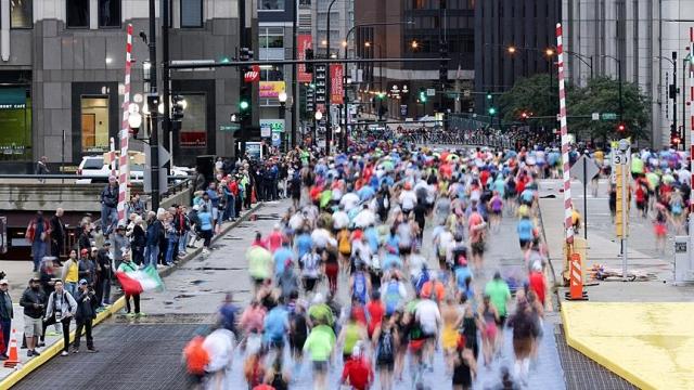 Şikago Maratonu da iptal edildi