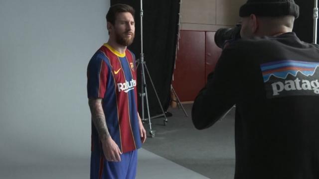 Barcelona'ya yeni forma