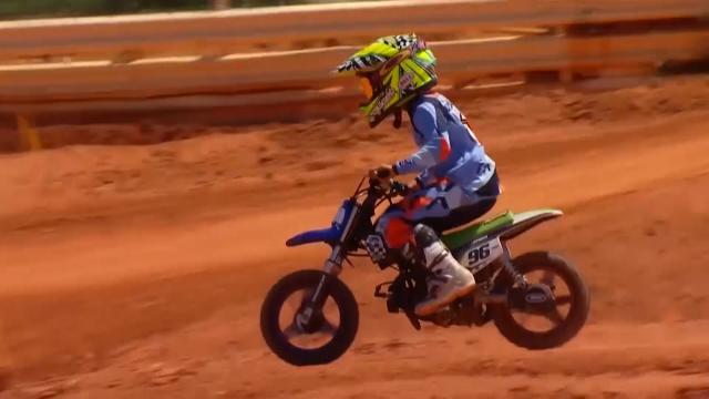 6 Yaşındaki motosiklet tutkunu