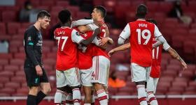 Arsenal, şampiyon Liverpool'u evine boş gönderdi