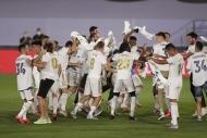 Real Madridin şampiyonluk coşkusu