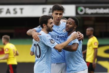 Watford - Manchester City (Özet)