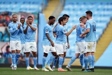 Manchester City - Norwich City (Özet)