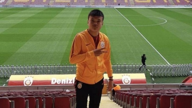 Galatasaraylı Beknaz Almazbekov'a Fair Play Ödülü