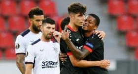 Leverkusen, Rangers'a şans tanımadı