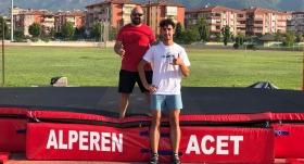 Alperen Acet, Avrupa'da 5. sıraya çıktı