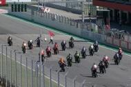 Motosiklette heyecan Portekiz'de yaşandı