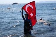 Milli dalışçıdan dünya rekoru denemesi