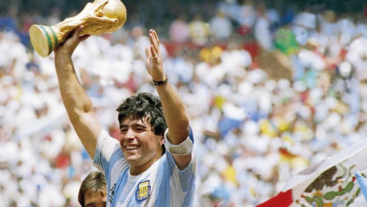 1: Diego Armando Maradona