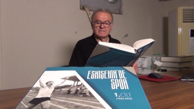 Kentin spor tarihi kitaplaştırıldı