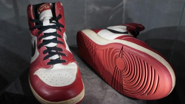 Jordan'ın ayakkabısı rekor kırdı