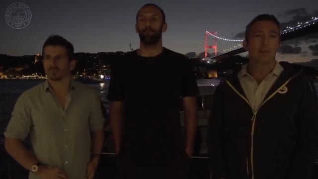 Ali Koç ve Emre Belözoğlu'ndan Vedat Muriç'e veda
