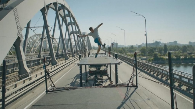 Alexander Titarenko film sahnelerini aratmadı