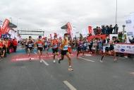 İstanbul Maratonu'nda maske detayı