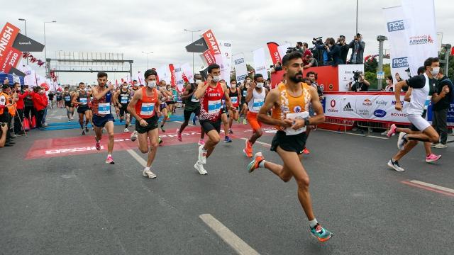 Vodafone İstanbul Yarı Maratonu tamamlandı