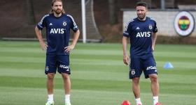 Caner ile Gökhan, Fenerbahçe formasıyla uzun zaman sonra Ülker Stadı'nda